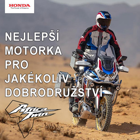 Honda - Adventure v jedné stopě