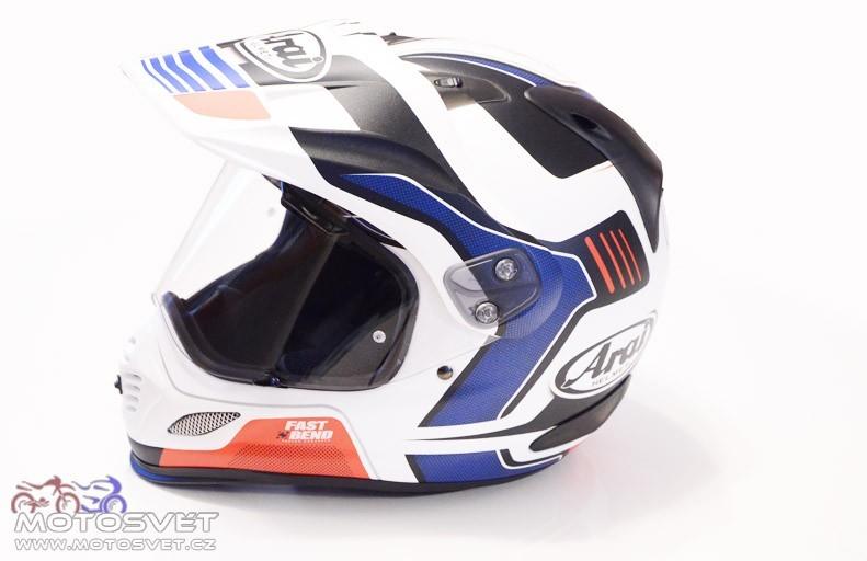 Motosvět - motorkáři a motorky - Helma Arai Tour-X4 - enduro ... 13252e906b